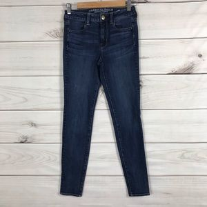 Aeropostale 0 High Rise Jeggings Stretch Jeans